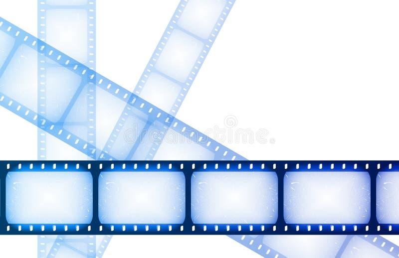 Carretéis do Special da noite de filme ilustração stock