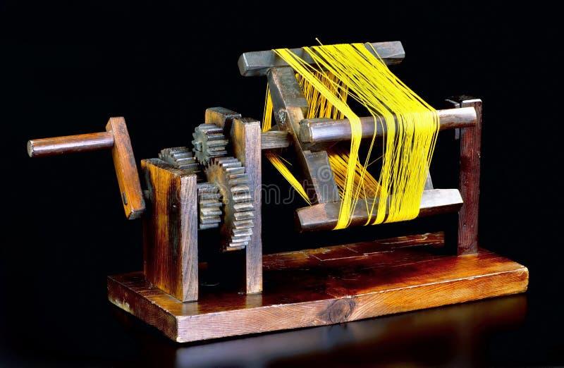 Carrete antiguo de la seda de Zakuri del japonés foto de archivo libre de regalías