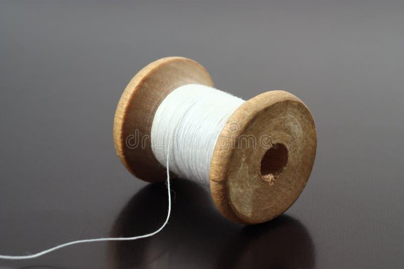 Carrete de la cuerda de rosca fotografía de archivo libre de regalías