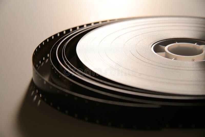 carrete de película de 16m m fotos de archivo