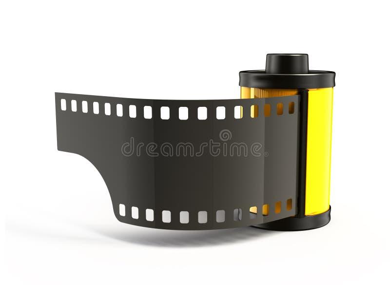 Carretel da foto ilustração stock
