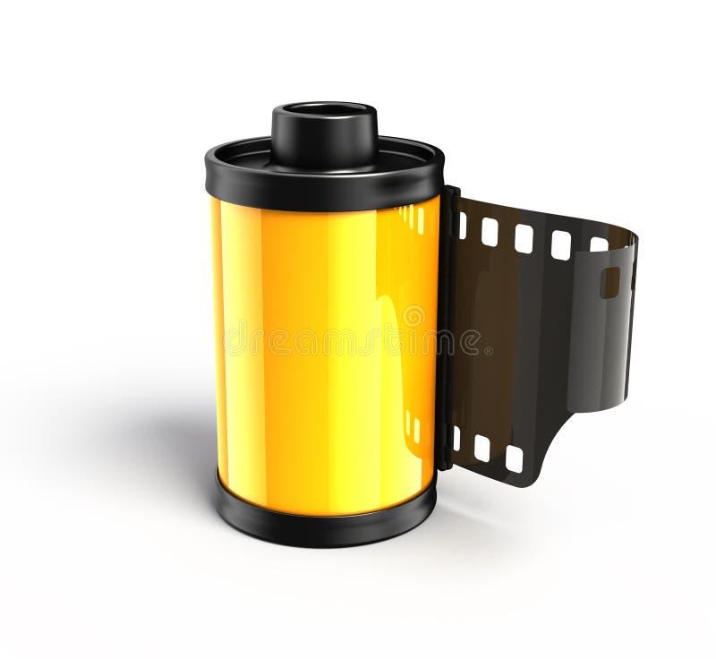 Carretel da foto para a película ilustração do vetor