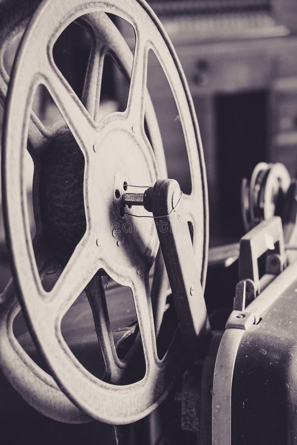 Carretel de filme do vintage imagem de stock
