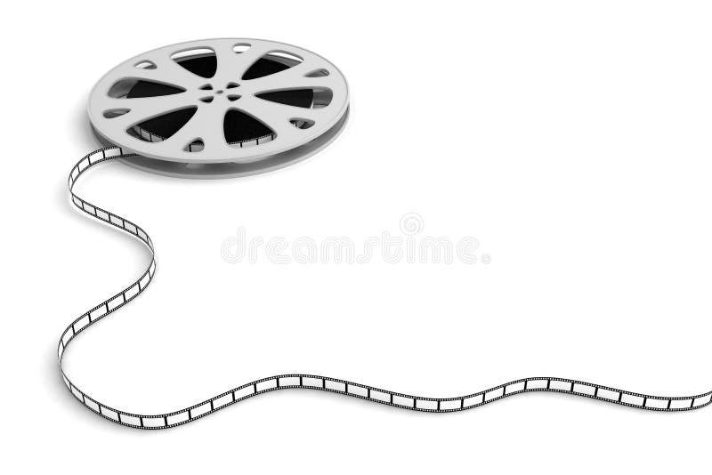 Carretel de película ilustração do vetor