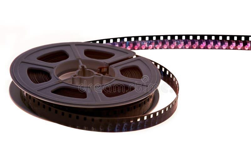 Carretel de película do vintage fotografia de stock