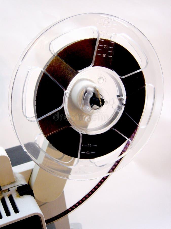 Carretel de película super da cinematografia fotografia de stock royalty free