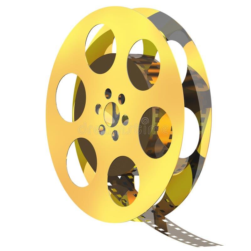 Carretel do filme ilustração stock