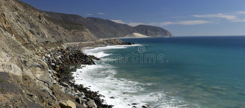 Carretera 1 De La Costa Del Pacífico Foto de archivo