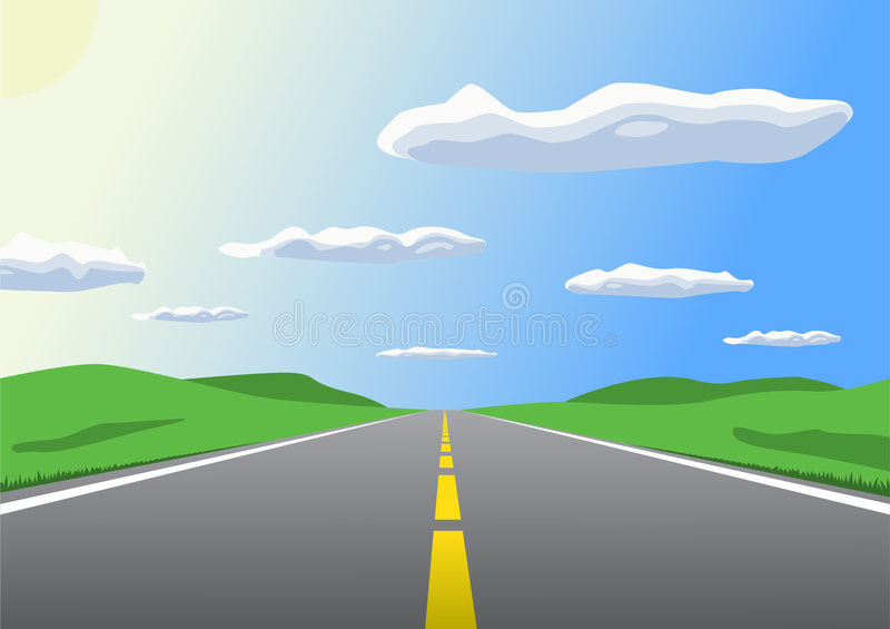 Carretera libre illustration