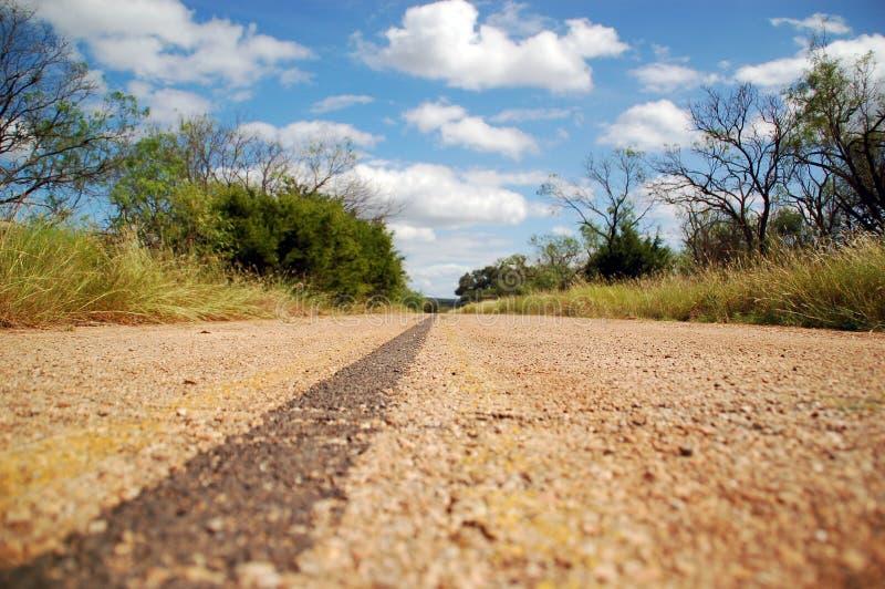 Carretera abandonada fotografía de archivo libre de regalías