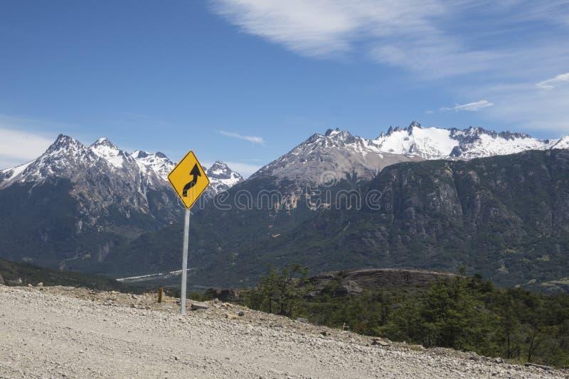Carretera austral en piment photographie stock