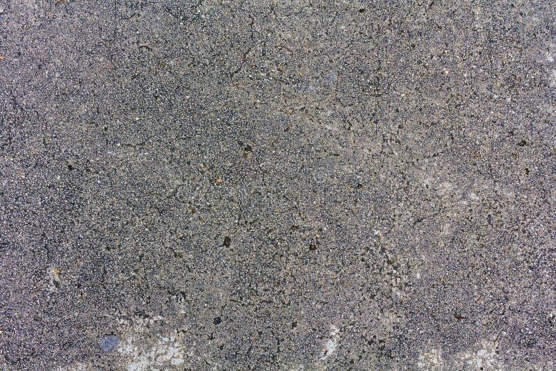 Carretera de asfalto áspera, la textura de la pista de despeque, visión superior fotos de archivo