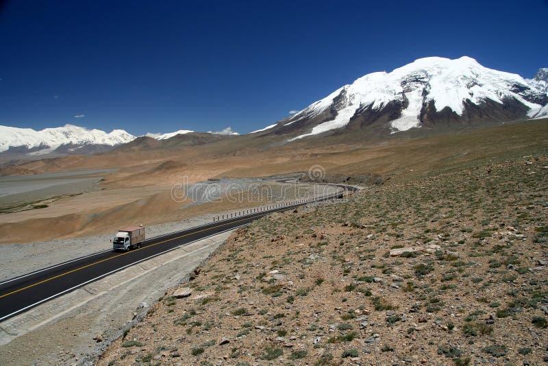 Carretera de Karakorum foto de archivo
