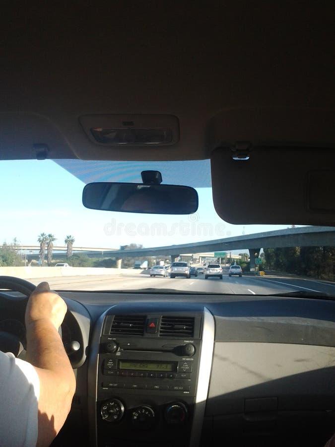 Carretera de Los Ángeles fotos de archivo