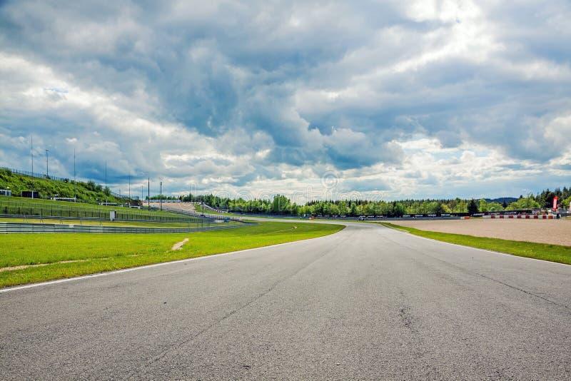 Carretera de Nurburgring, Alemania fotografía de archivo libre de regalías