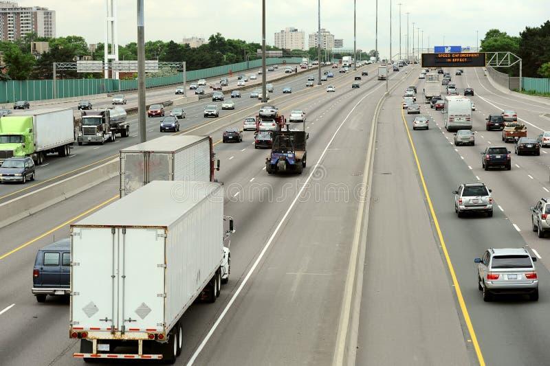 Carretera de Toronto fotos de archivo libres de regalías