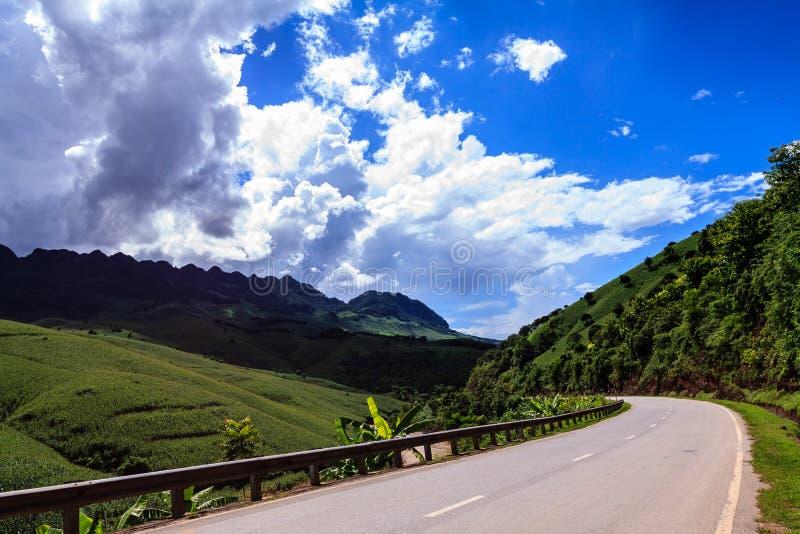Carretera del país fotografía de archivo