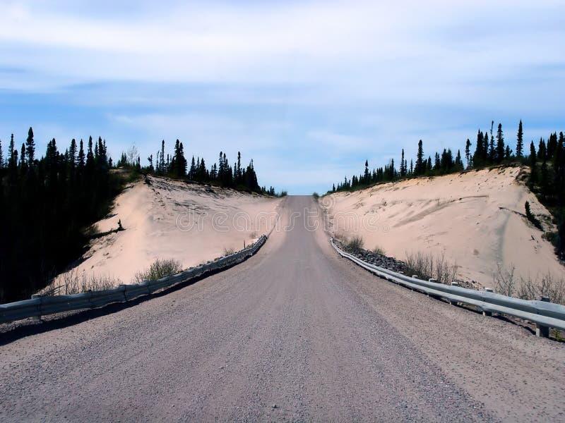 Carretera del transporte Labrador imagen de archivo
