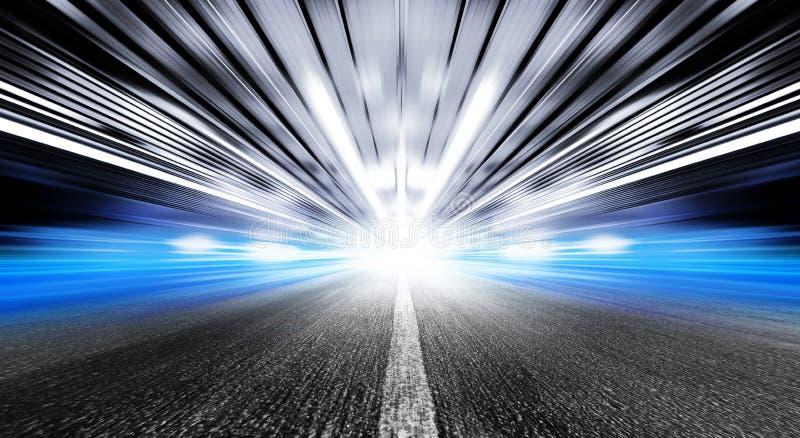 Carretera en túnel urbano imagen de archivo