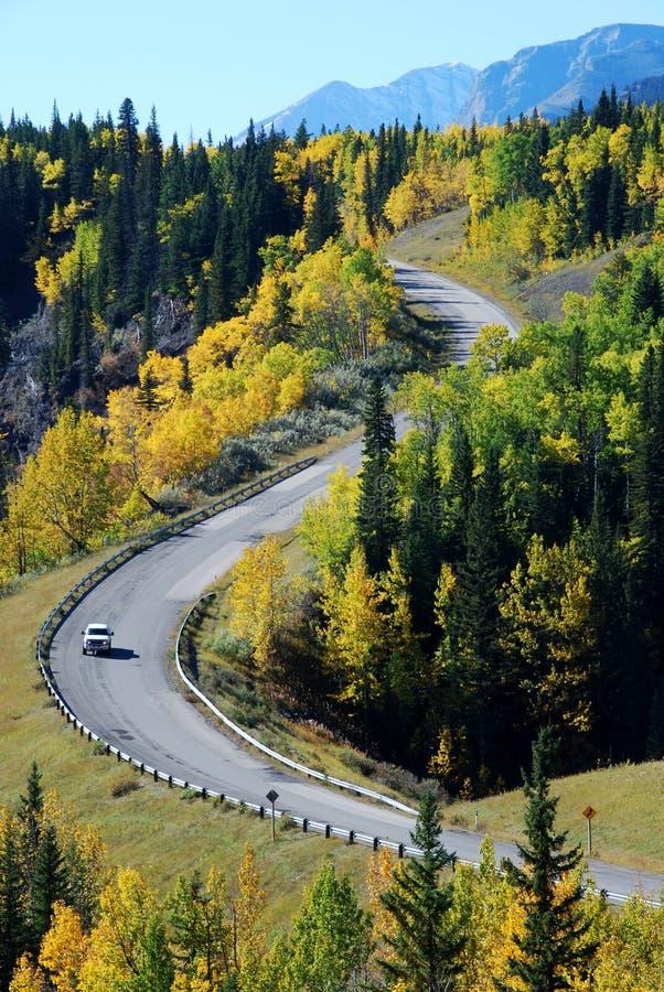 Carretera en una dimensión de una variable hermosa fotografía de archivo