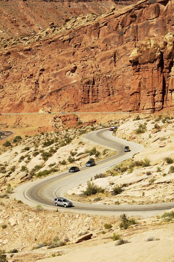 Carretera escénica imagen de archivo libre de regalías