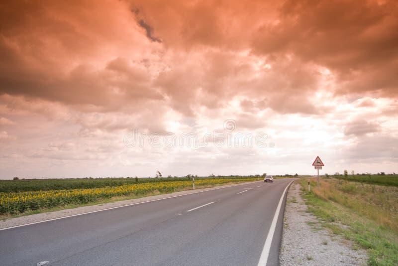 Carretera mística fotos de archivo libres de regalías