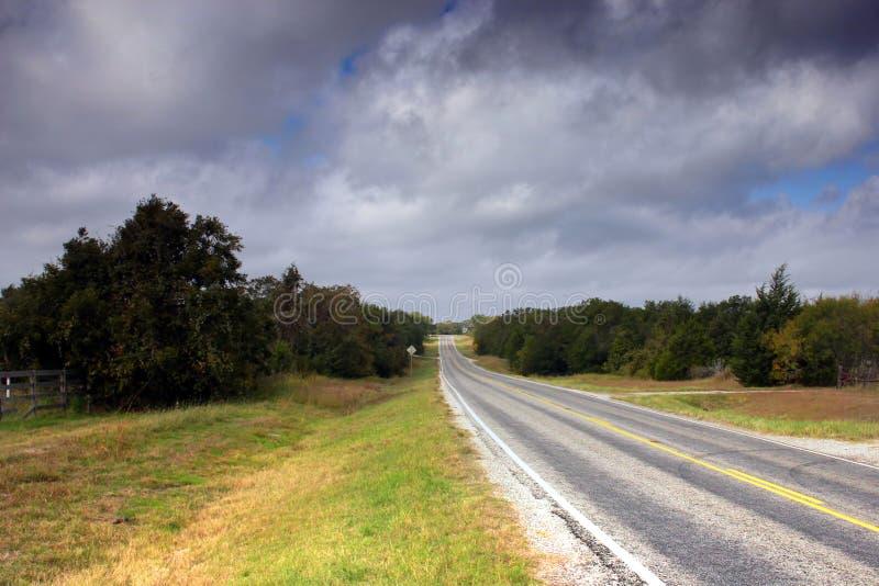 Carretera nacional fotografía de archivo