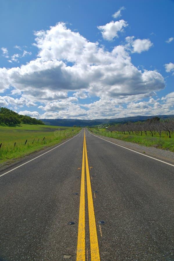 Carretera nacional imágenes de archivo libres de regalías