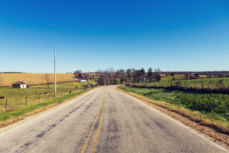 Carretera nacional americana imagenes de archivo