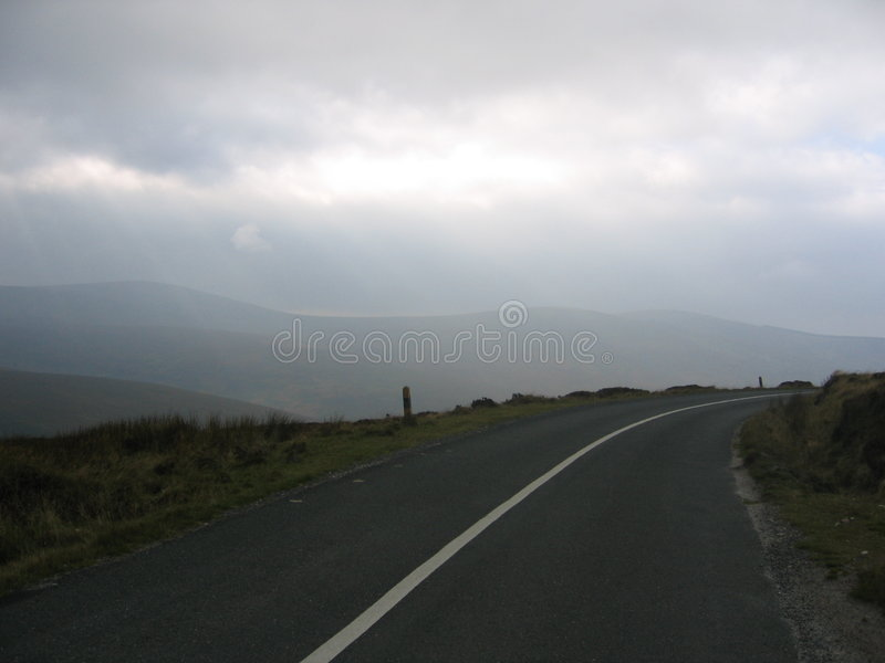Carretera nacional de Irlanda fotos de archivo libres de regalías