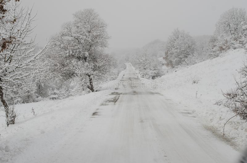 Carretera nacional Nevado fotos de archivo