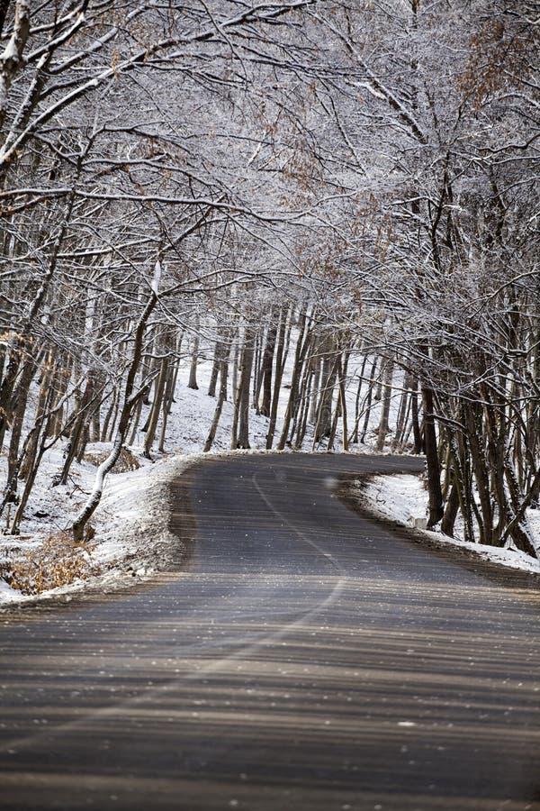 Carretera nacional Nevado foto de archivo libre de regalías