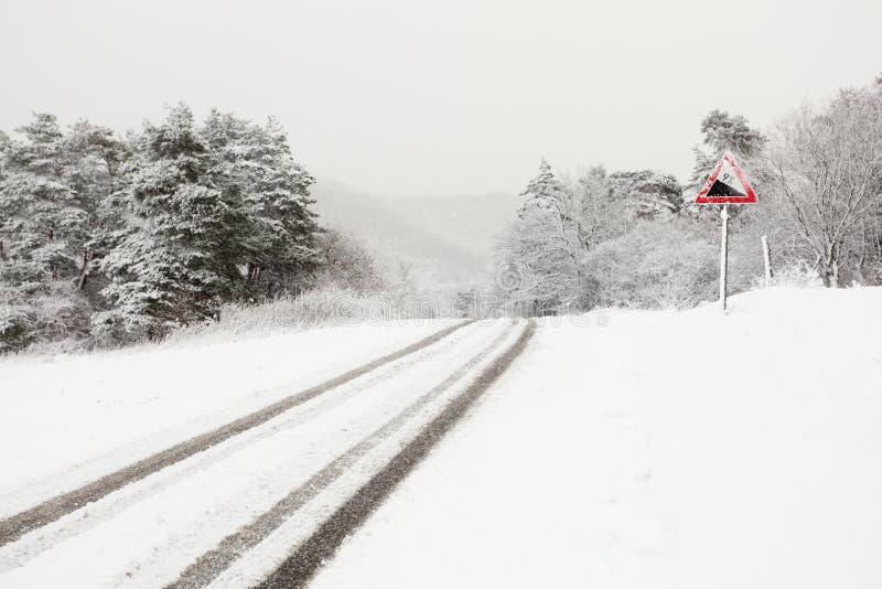Carretera nacional Nevado fotografía de archivo libre de regalías