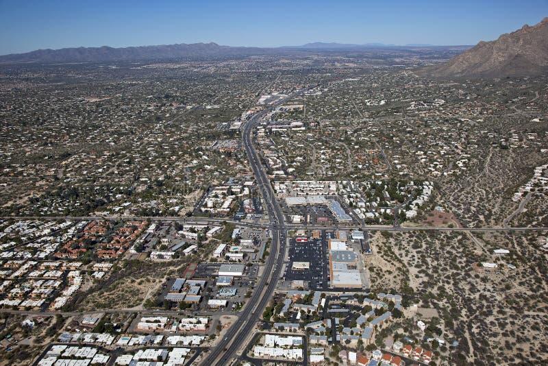 Carretera ocupada de Tucson fotografía de archivo libre de regalías