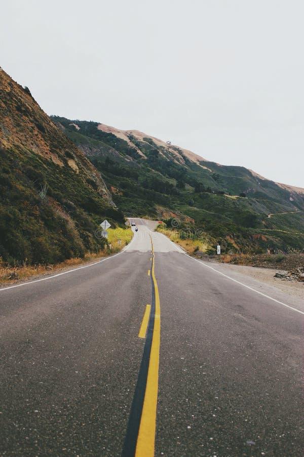 Carretera vacía foto de archivo