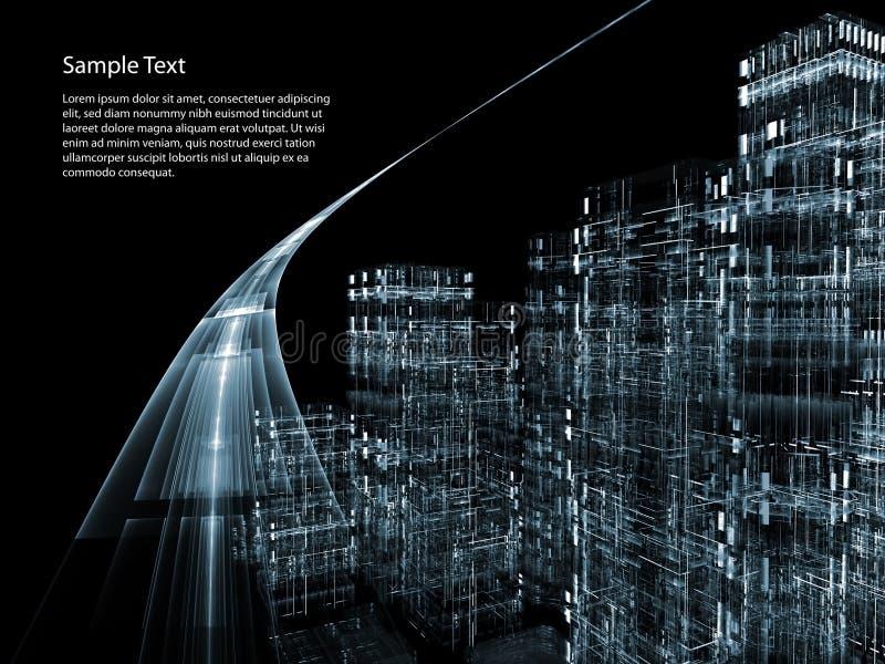 Carretera virtual libre illustration