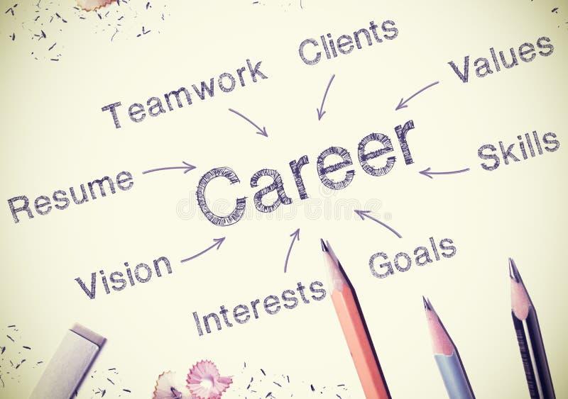 carrière stock illustratie