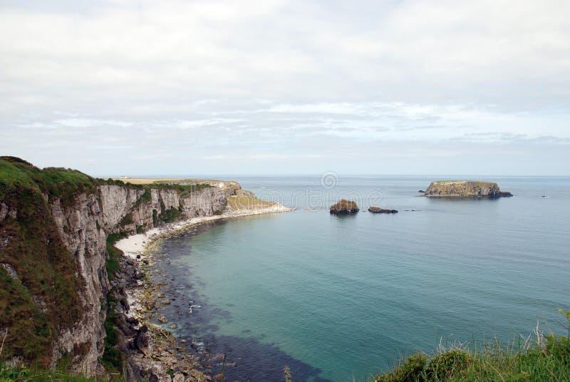 carrick海岸rede 免版税图库摄影