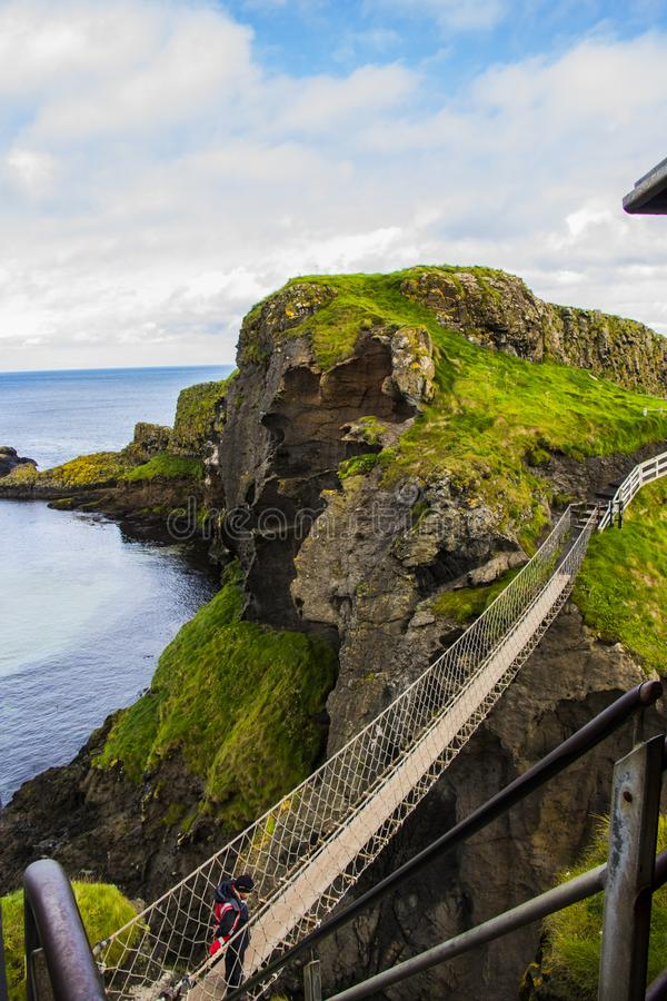Carrick a Rede stock photography