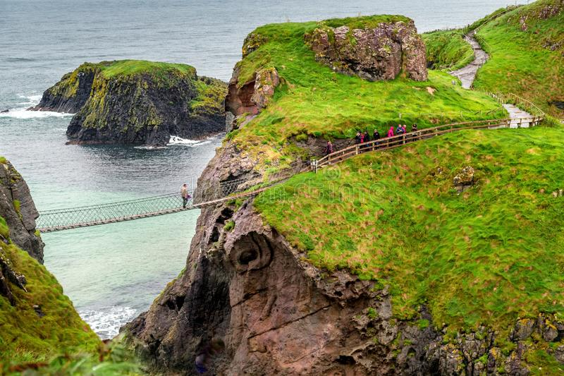 Carrick Rede Linowy most obraz royalty free