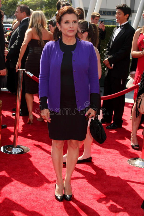 Carrie Fisher fotos de stock royalty free