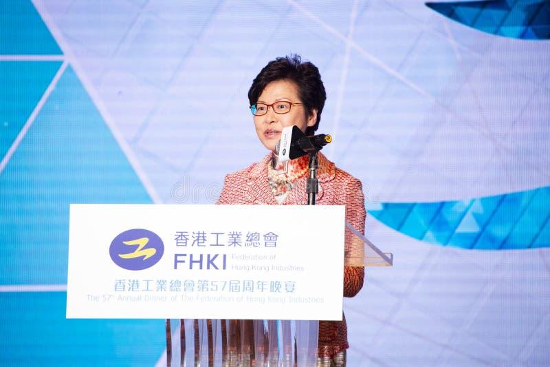 Carrie Lam Cheng Yuet-ngor image libre de droits