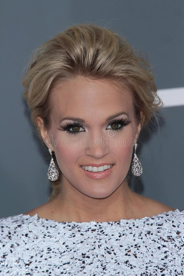 Carrie Underwood fotografia de stock royalty free