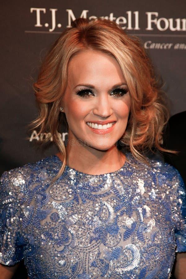 Carrie Underwood image libre de droits