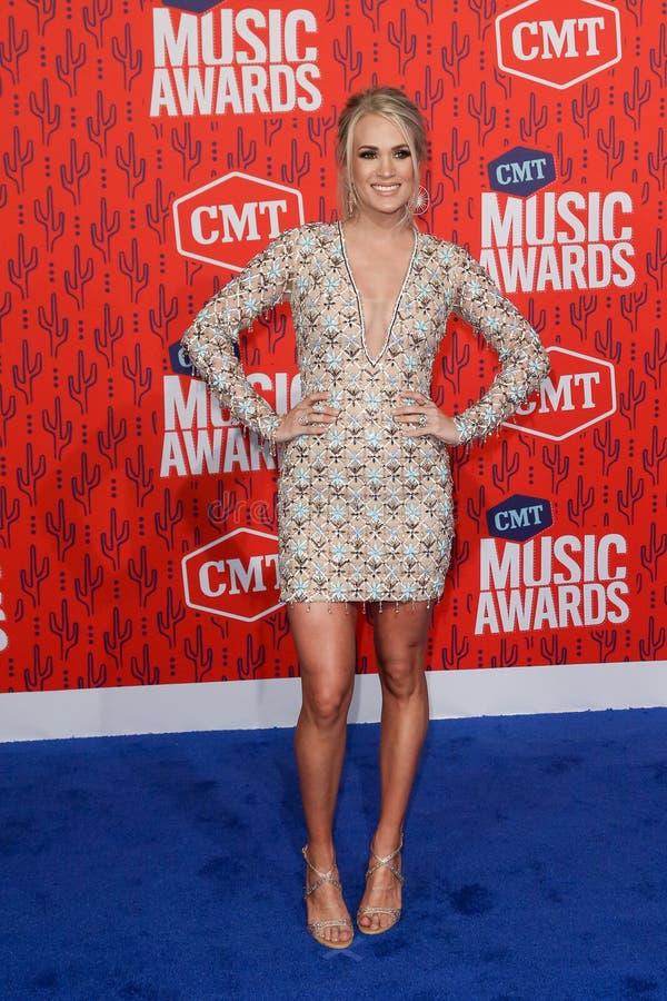 Carrie Underwood foto de archivo libre de regalías