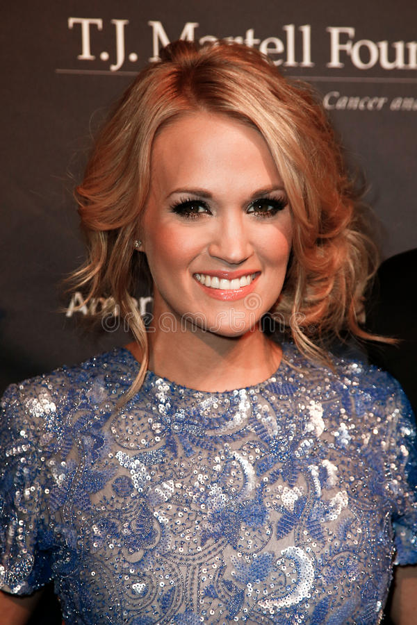 Carrie Underwood royalty free stock image