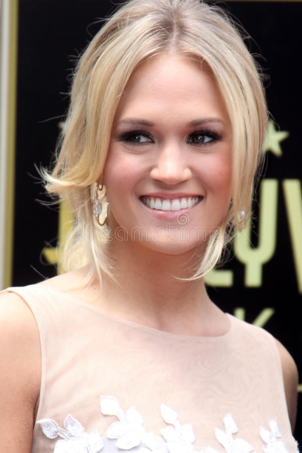 Download Carrie Underwood, Simon Fuller Editorial Stock Photo - Image: 24306058