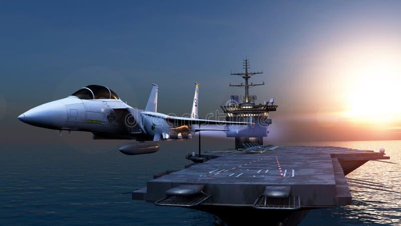 carrier stock illustratie