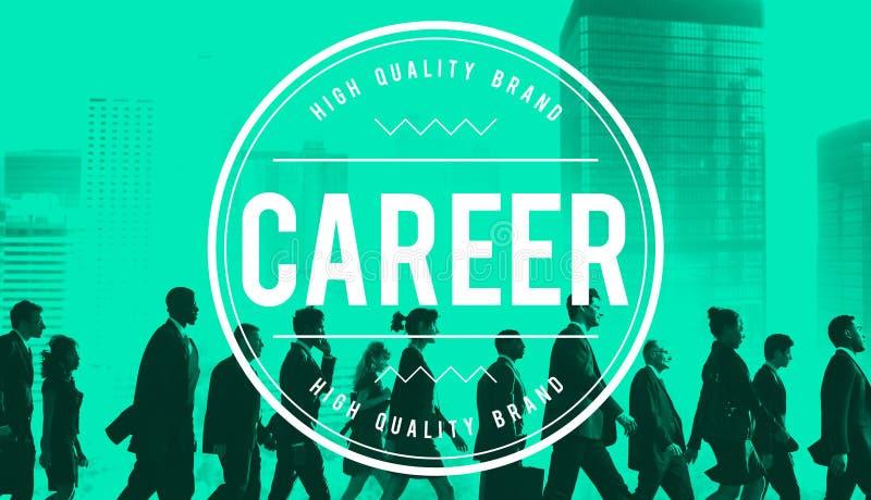 Carriera Job Occupation Expertise Employment Concept fotografia stock libera da diritti