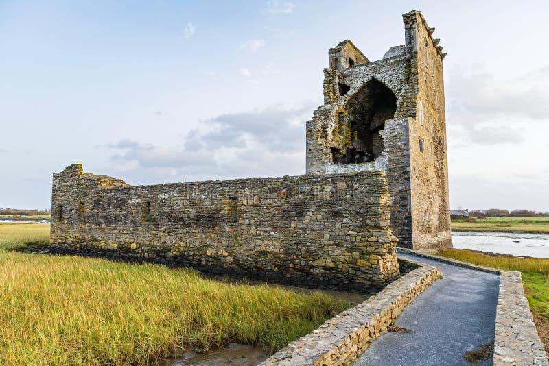 Carrigafoyle castle in Ireland royalty free stock images
